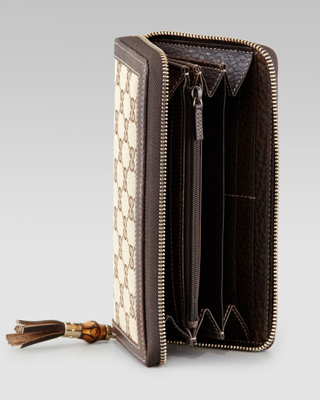 Tassel Original GG Zip-Around Wallet