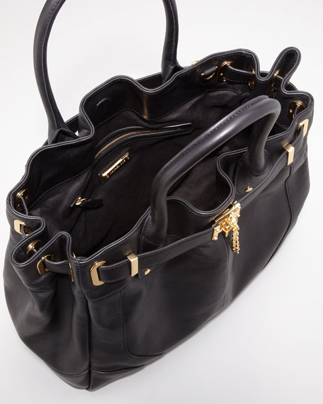 Zoe Deux Tote Bag, Black
