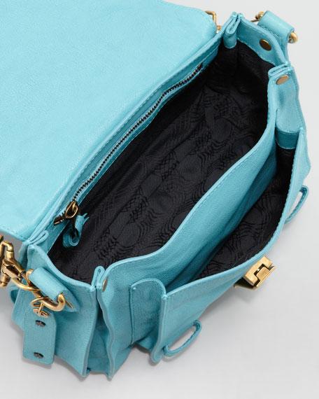 PS1 Shoulder Pouch Bag, Lagoon
