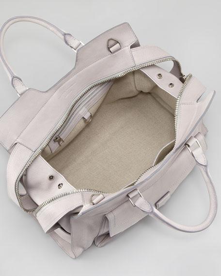 PS13 Large Satchel Bag, Gray