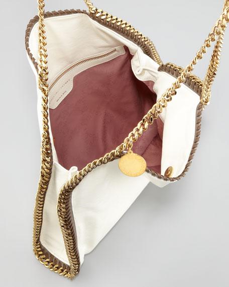 Falabella Faux Leather Tote Bag, Ivory