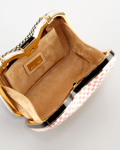 Giano Quadrotino Clutch Bag