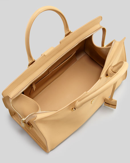 Cabas Medium Y Ligne Tote Bag, Natural