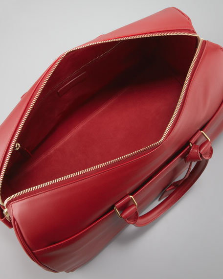 Medium Classic Duffel Bag, Red