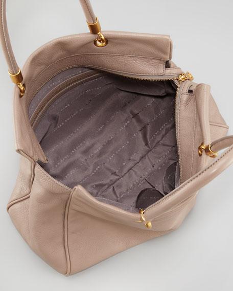 Too Hot to Handle Tote Bag, Tan
