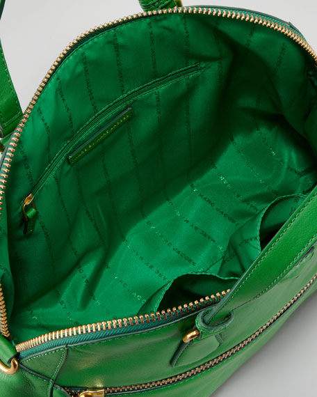 Globetrotter Calamity Rei Satchel Bag, Green