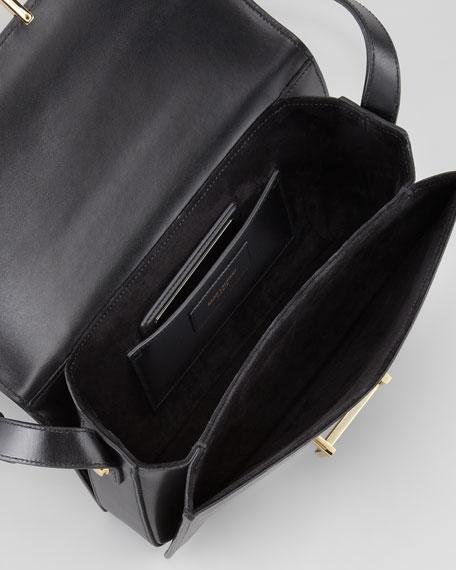 Medium Lulu Shoulder Bag, Black