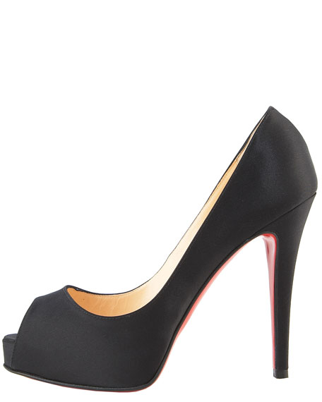 Very Prive Satin Platform Pump