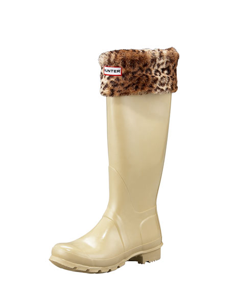 Gloss Welly Boot