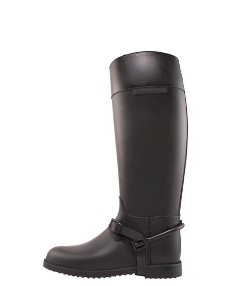 Equestrian Rubber Rain Boot