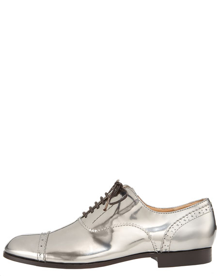 Lace-Up Runway Patent Oxford