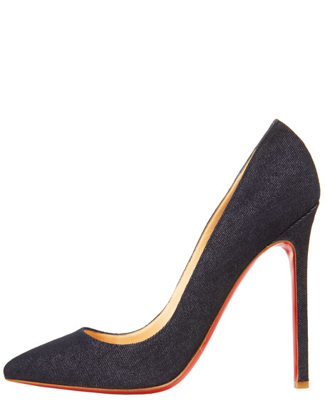 Pigalle Denim Pump