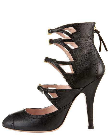 Four-Buckle Boot