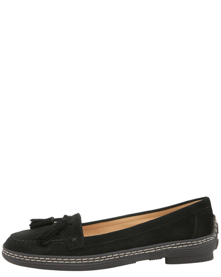 Ford Suede Driving Loafer, Black