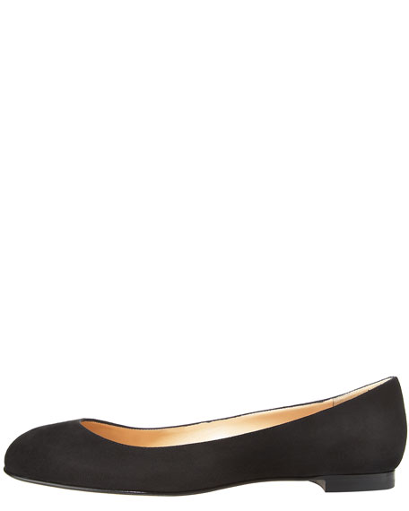 Tere Patent Round-Toe Skimmer