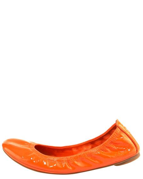 Eddie Ballerina Flat, Orange