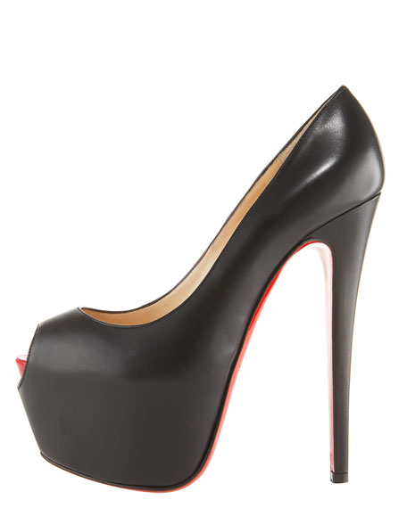 Highness Platform Pump, Black