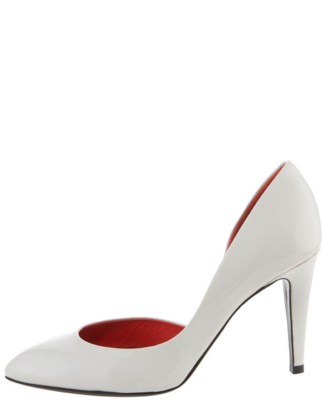 Patent Leather d'Orsay Pump