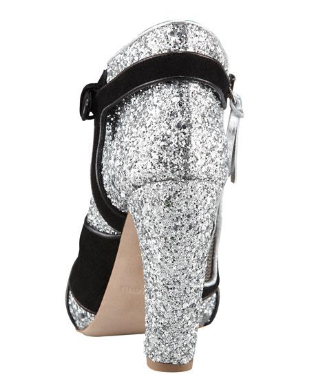 Glitter Bootie