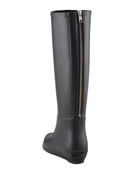 Back-Zip Rain Boot