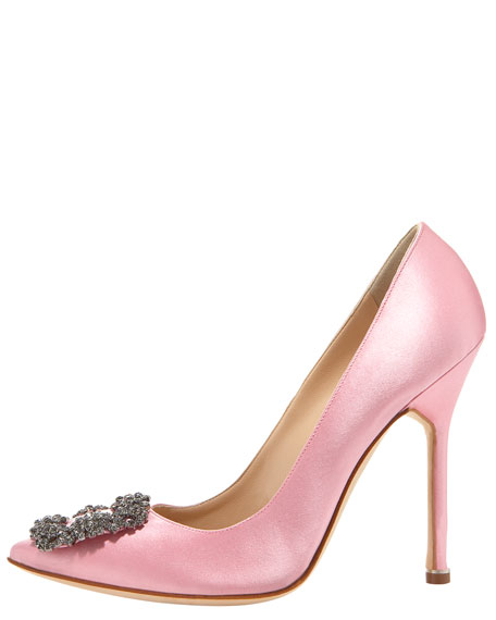 Hangisi Satin Pump, Light Pink