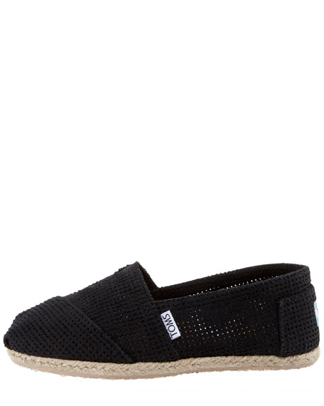 Freetown Perforated Slip-On, Black