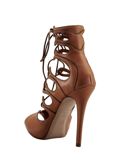 Ghilly Lace-Up Sandal