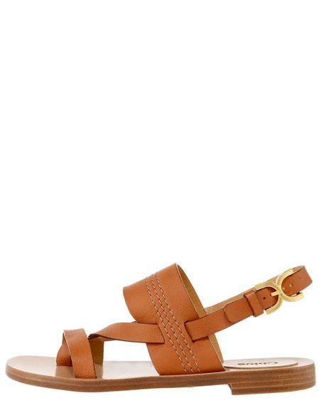 Flat Slingback Thong Sandal