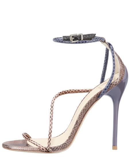 Labrea Corded Snakeskin Sandal