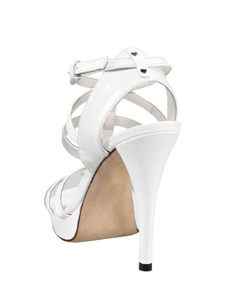 Patent Strappy Sandal