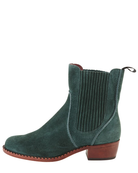 Chelsea Suede Slip-On Boot