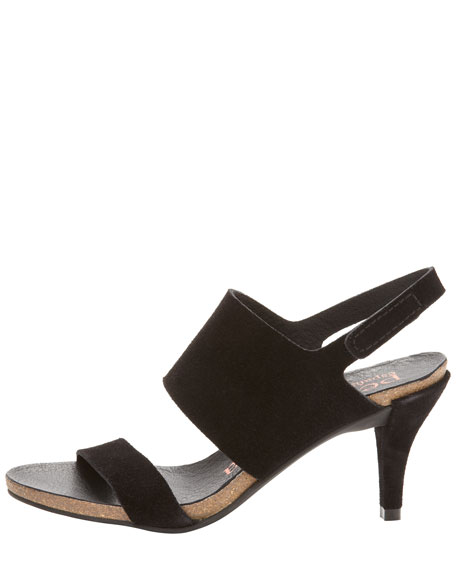 Willy Low-Heel Slingback Sandal
