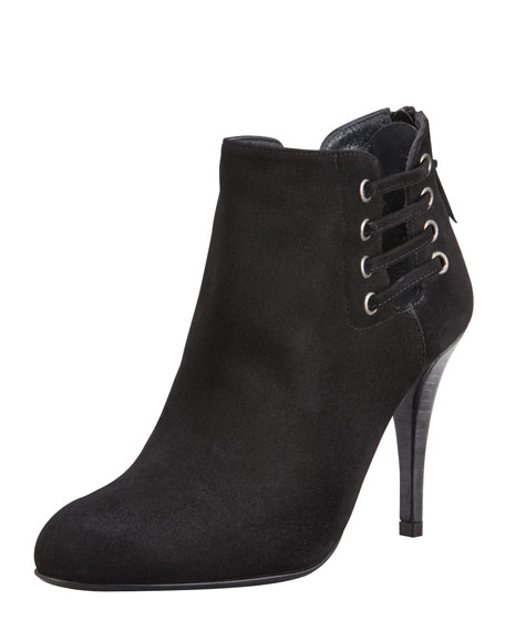 Hotline Suede Ankle Bootie