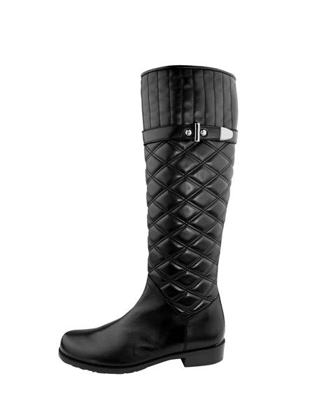 Copliot Quilted Leather Boot