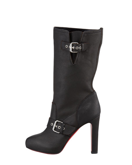 Flanavec Tall Red Sole Boot