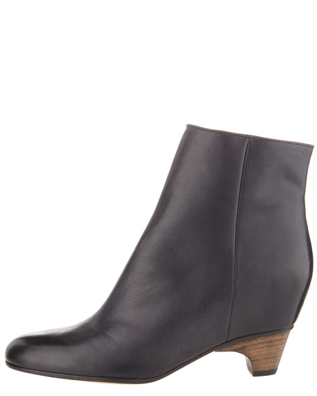 Internal Wedge Ankle Boot