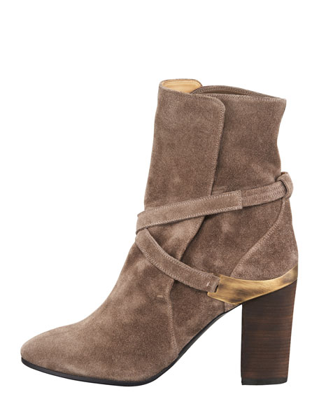Suede Slip-On Boot