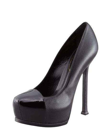 Cap-Toe Tribtoo Pump