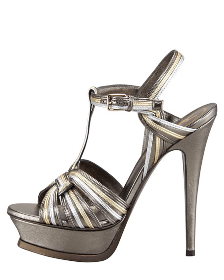 Metallic Tribute Sandal