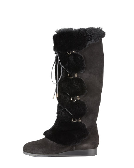 Danube Rabbit Front-Tie Boot
