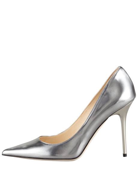 Abel Vintage Mirror Leather Pump