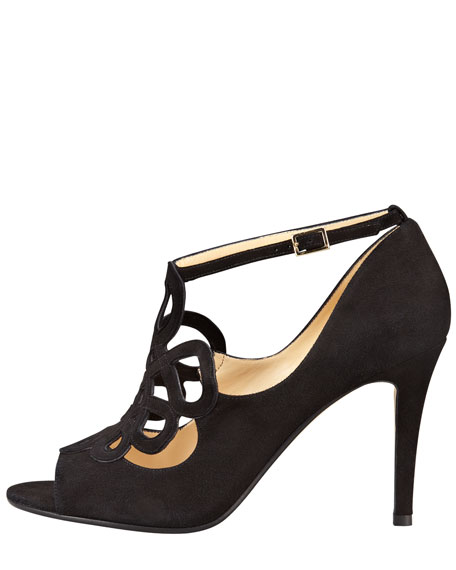 immie cutout shoe bootie