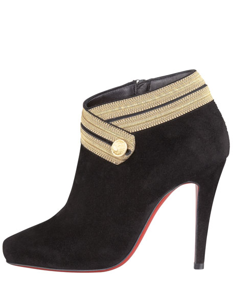 Marychal Suede Red Sole Bootie