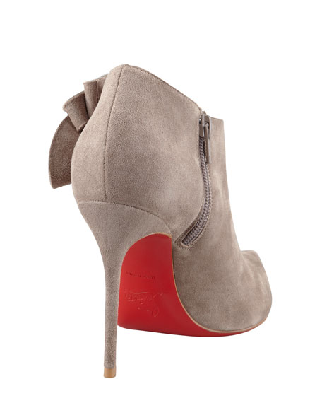 Mrs. Baba Suede Red Sole Bootie