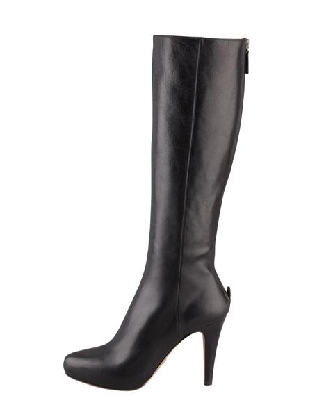 Zip-Back Knee Boot