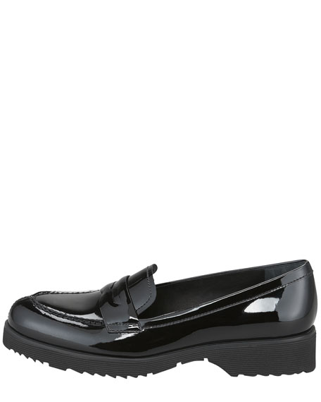 Patent Leather Penny Loafer