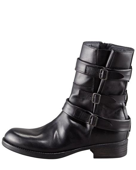 Triple-Buckle Boot