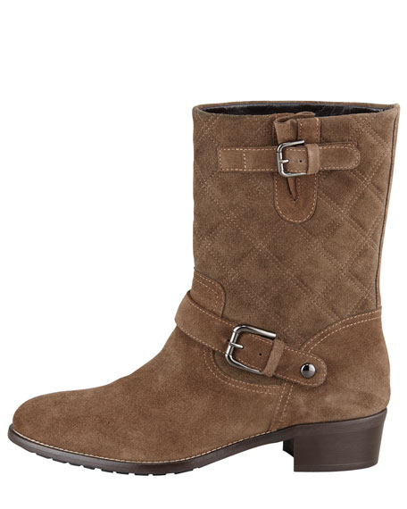 Ora Quilted Short Boot