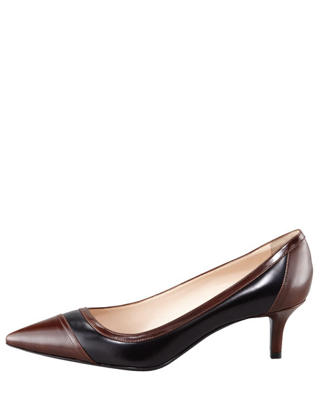 Asymmetric Pointed Toe Pump