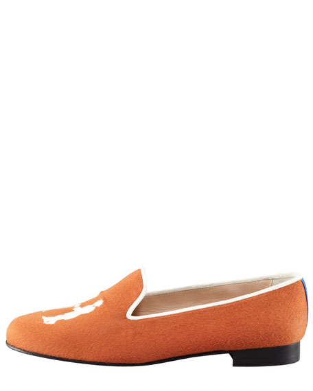 Audrey Cashmere Gentleman Smoking Loafer